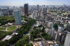 Stad van Tokyo Japan Stock Foto