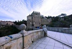Stad van Toledo Spain stock foto's