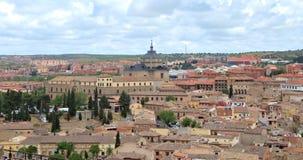 Stad van Toledo Spain royalty-vrije stock foto's