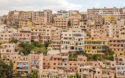 Stad van Tripoli, Libanon Stock Foto