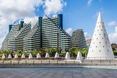 Stad van Valencia Royalty-vrije Stock Foto's