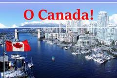 Stad van Vancouver Royalty-vrije Stock Foto's
