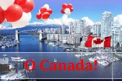 Stad van Vancouver Royalty-vrije Stock Afbeelding