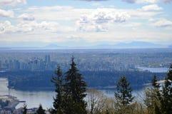 Stad van Vancouver royalty-vrije stock fotografie