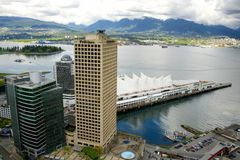 Stad van Vancouver, Canada Stock Foto's