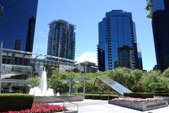 Stad van Vancouver, Canada Stock Foto