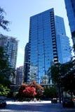 Stad van Vancouver, Canada Stock Fotografie