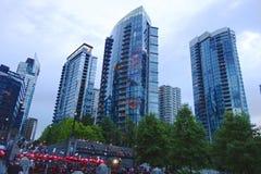 Stad van Vancouver, Canada Stock Afbeelding