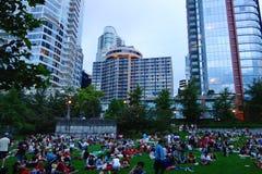 Stad van Vancouver, Canada Royalty-vrije Stock Foto's