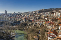 Stad van Veliko Tarnovo, Bulgarije Stock Fotografie