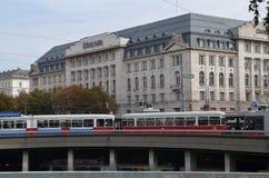 Stad van Wenen in Oostenrijk Royalty-vrije Stock Foto's
