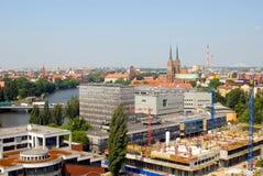 Stad van Wroclaw royalty-vrije stock foto's