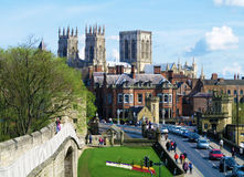 Stad van York Stock Afbeeldingen