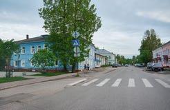 Stad Velsk Rusland royalty-vrije stock afbeelding