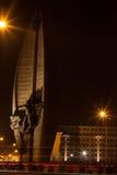 Stad vid natt Royaltyfria Foton