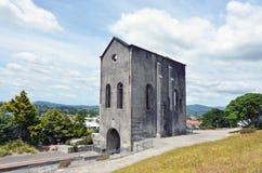 Stad Waihi för guld- min - Nya Zeeland Fotografering för Bildbyråer