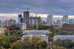Stad Yekaterinburg Royalty-vrije Stock Afbeelding