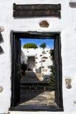 Stad-zaal Betancuria Fuerteventura Royalty-vrije Stock Foto