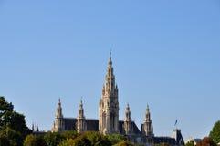 Stad-zaal in Wenen Royalty-vrije Stock Foto's