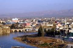 stad zakho royaltyfria bilder