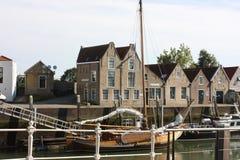 Stad Zierikzee in Nederland stock foto