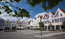 Stad Zilina, Slovakien royaltyfri foto