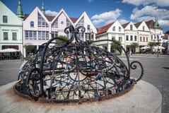 Stad Zilina, Slovakien royaltyfria bilder