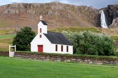 Stadarkirkja ein Reykjanesi, eine der vielen isländischen Kirchen Lizenzfreie Stockfotos