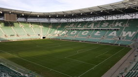 Stade à Wroclaw Pologne Images stock