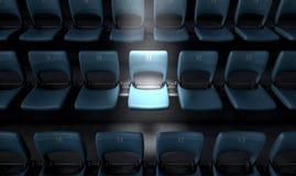 Stade accentué Seat images libres de droits