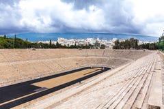 Stade Athènes, Grèce de Panathenaic photographie stock