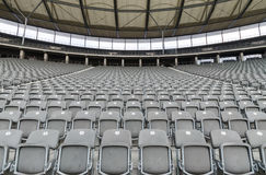 Stade avec le siège vide Photographie stock