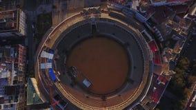 Stade célèbre d'arène en Séville, Andalousie, Espagne clips vidéos