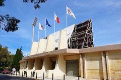 Stade centenaire, Malte image libre de droits