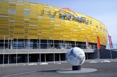 Stade d'arène de PGE à Danzig, Pologne Photo libre de droits