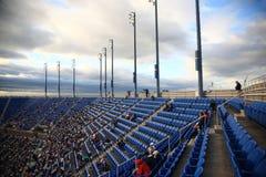 Stade d'Ashe - les USA ouvrent le tennis image libre de droits