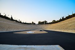 Stade d'Athènes Photo stock