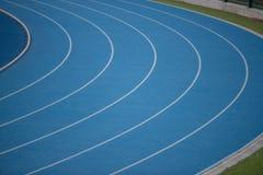 Stade d'athlétisme photo stock