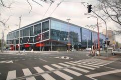 Stade d'Ondrej Nepela à Bratislava, Slovaquie Photographie stock
