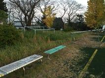 Stade d'une université au Japon photos stock