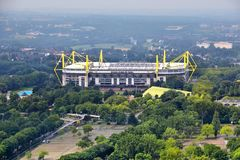 Stade de Borussia Dortmund Images stock