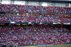 Stade de Busch de spectateurs Image stock