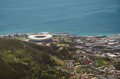 Stade de Cape Town Photos stock