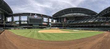 Stade de champ de chasse d'Arizona Diamondbacks Photos stock