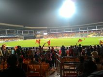 Stade de cricket de Chinnaswami image libre de droits