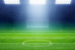 Stade de football Photographie stock