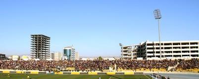 Stade de football Images libres de droits