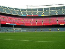 Stade de football Photo stock