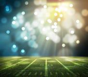 Stade de football américain 3D Photographie stock libre de droits