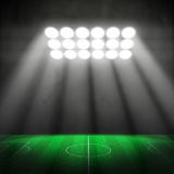 stade de football 3D Images stock